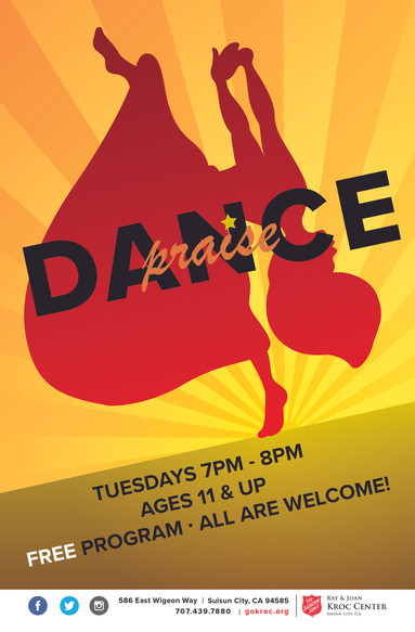Praise Dance Flyer