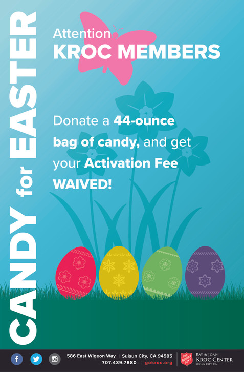 Candy for Easter Membership Promotion Flyer