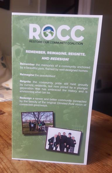 Restore Our Community Coalition Brochure