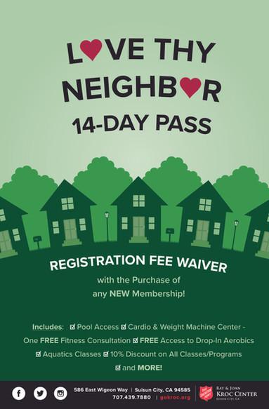 Love Thy Neighbor Membership Pass
