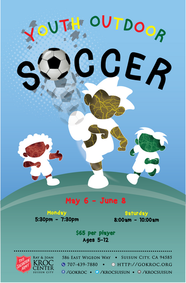 Youth Outdoor Soccer Flyer