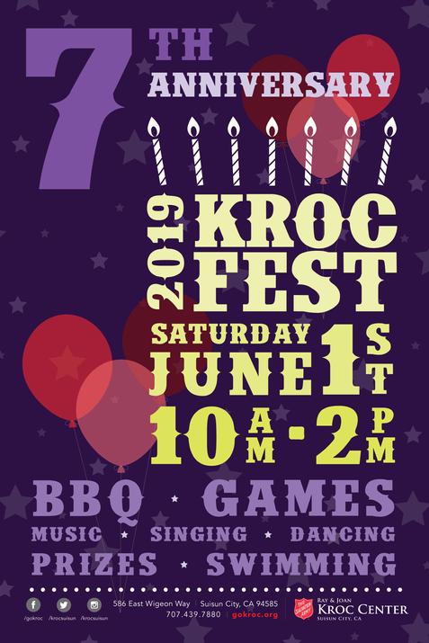 KROC Fest 2019 Flyer