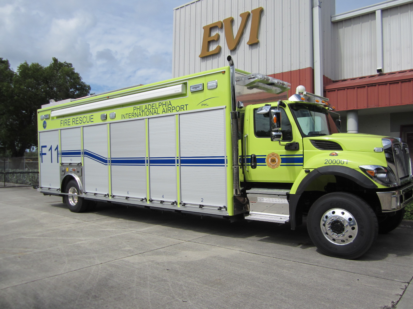 EVI- 28ft. Mass Casualty Unit