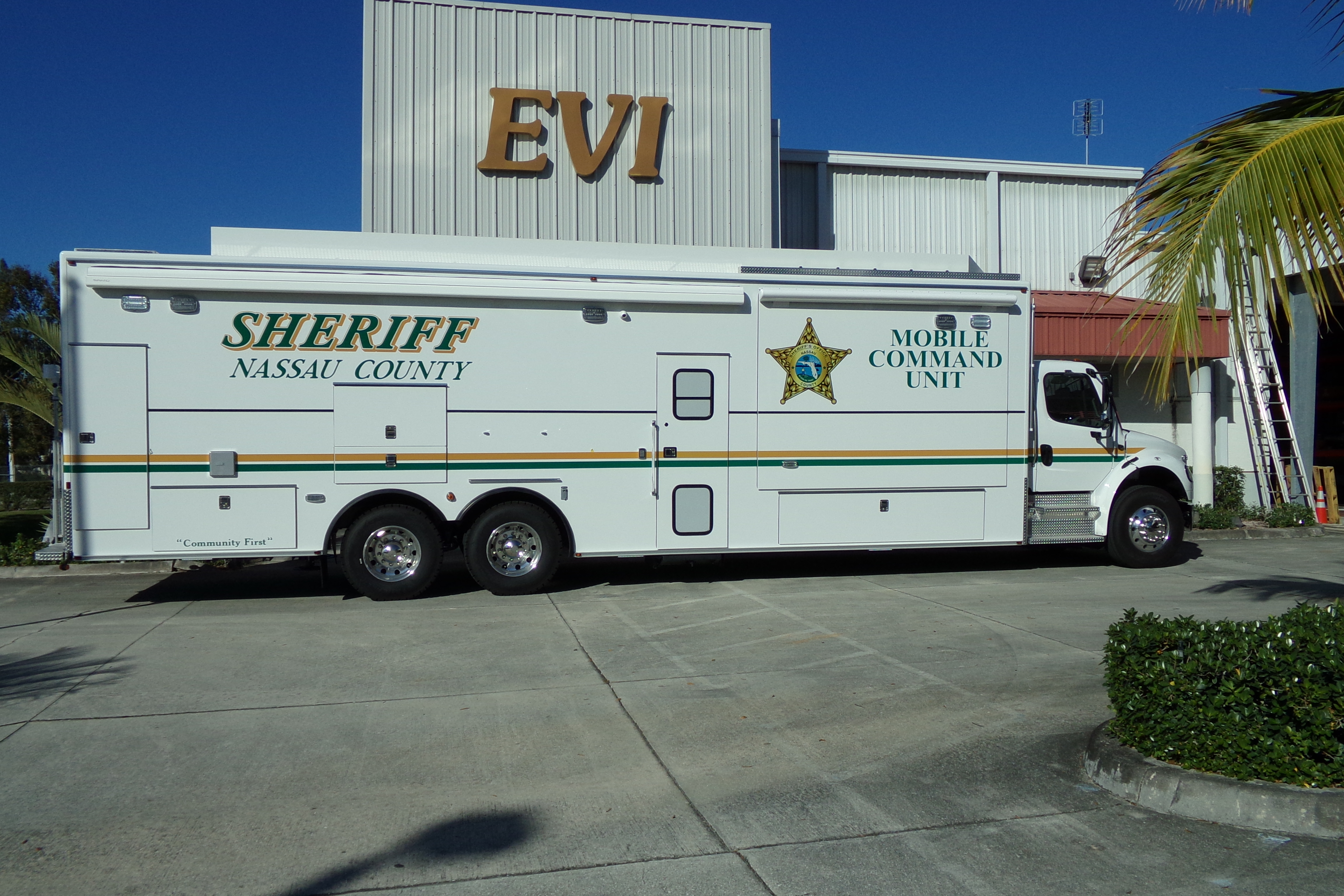 EVI 34-Ft. Mobile Command Vehicle