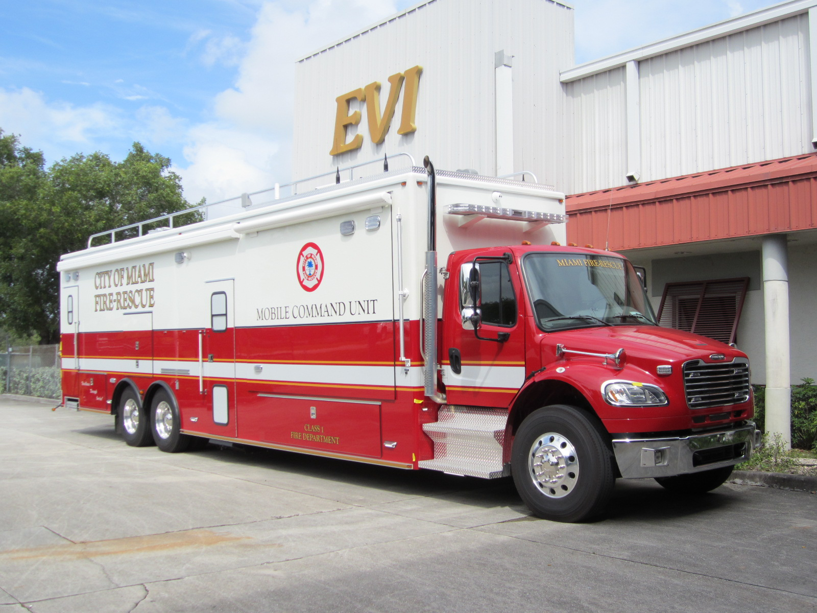 EVI - 34Ft. Command Vehicle