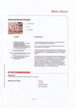 Schneemann Parader
