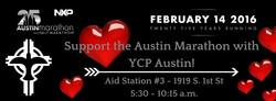 YCP Austin _ Aid Station #3, Austin Marathon and Half Marathon
