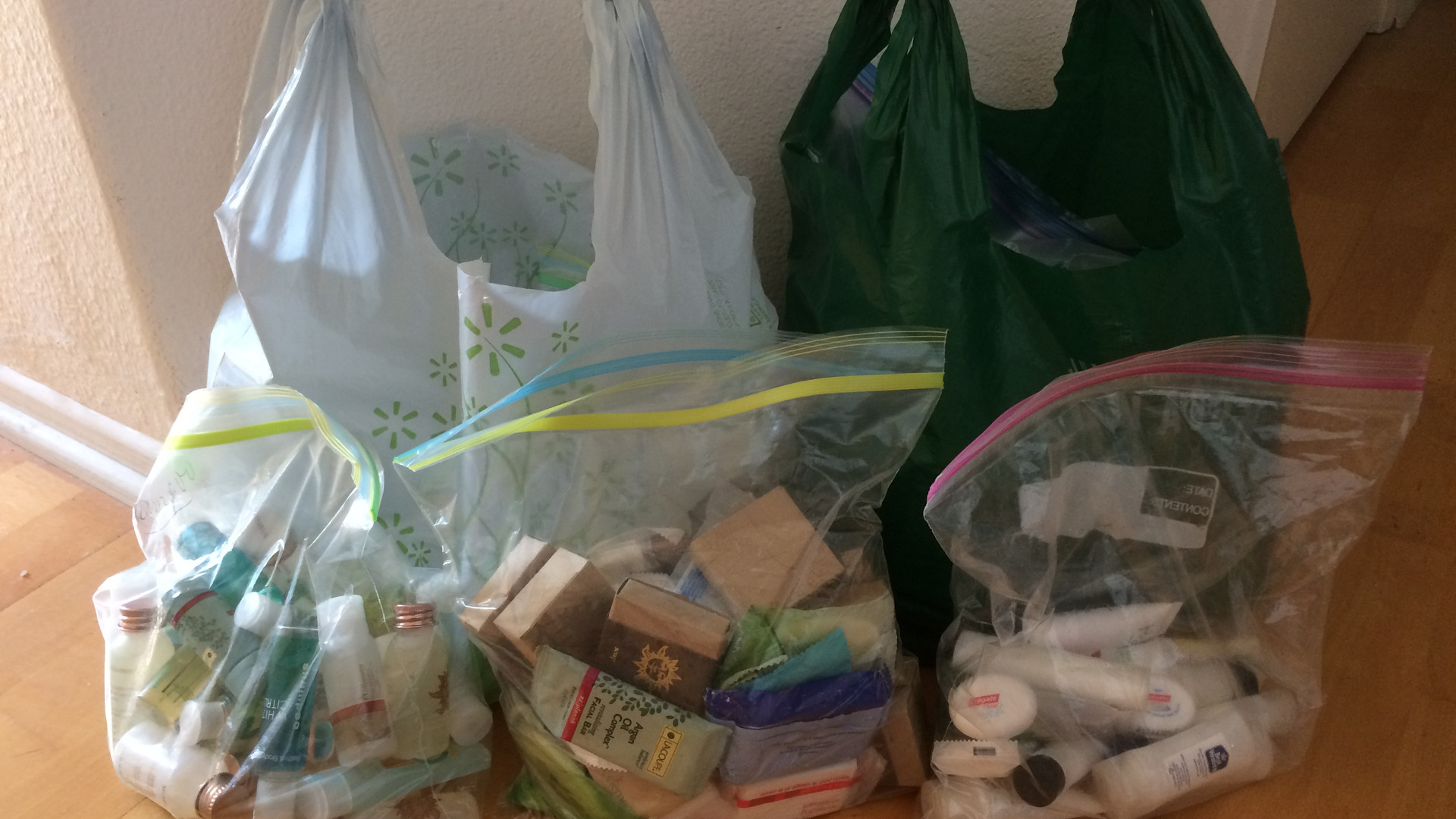 Toiletry Donations