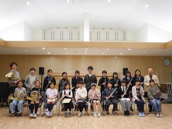 相馬管楽器教室の「第1回ミニ発表会」