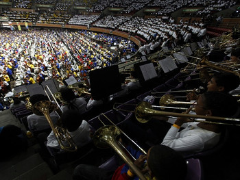 アブレウ博士の追悼コンサート