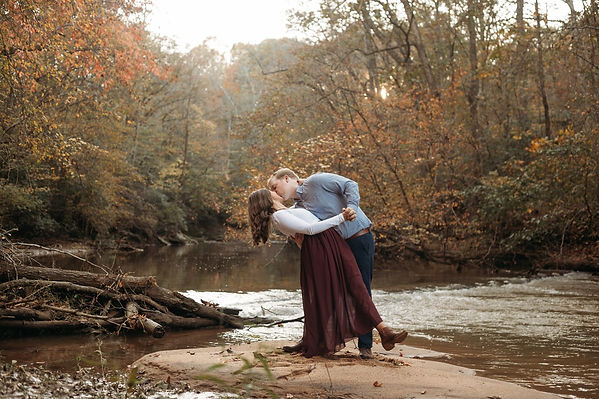winston salem engagement photoshoot