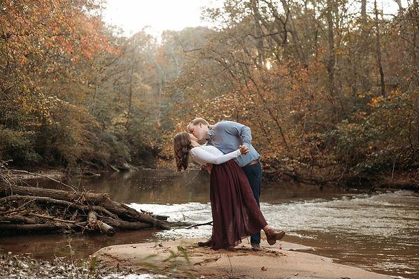 winston salem engagement photoshoot