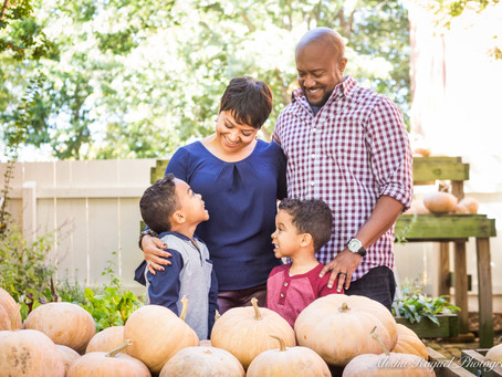 The Patterson Family's Fall Photos