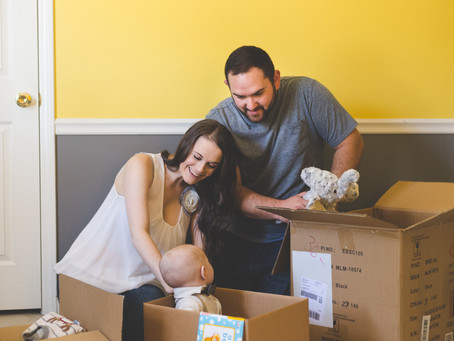 The Holland Family's Moving Lifestyle Family Photoshoot