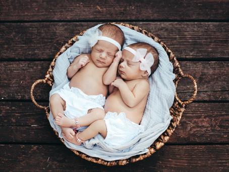 Twin Baby Girls!