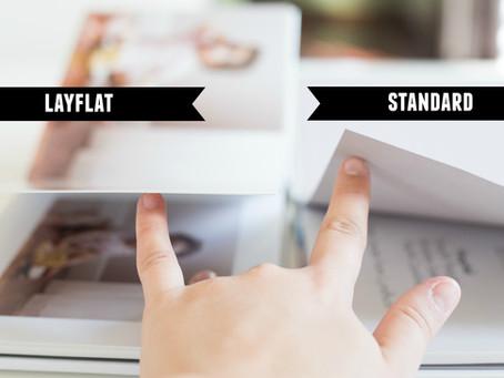 Standard vs. Layflat Photo Album