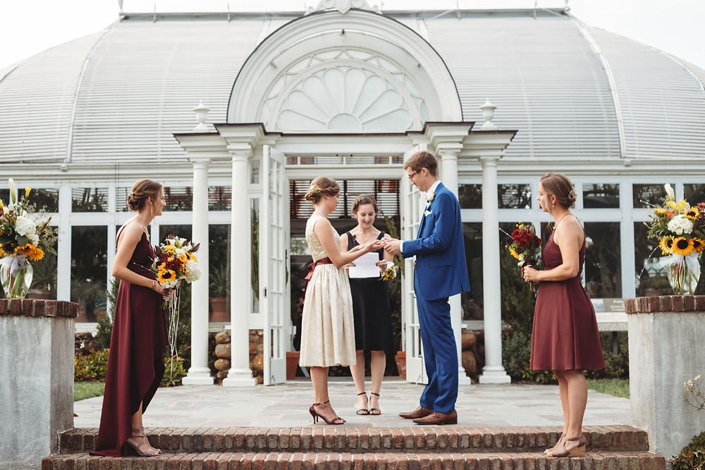 reynolda house garden wedding
