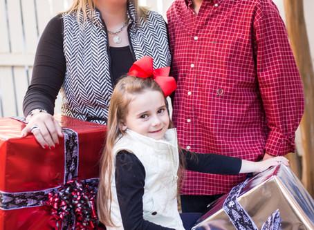 The Hiatt Family's Christmas Portraits