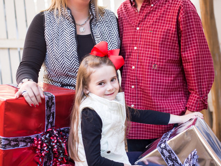 The Hiatt Family's Christmas Portraits
