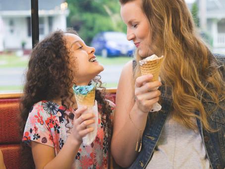 Ice-Cream, Coffee, Playground oh my!