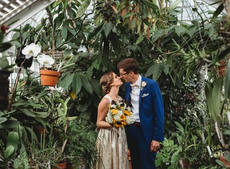 Erin & Drew's Reynolda Barn Wedding