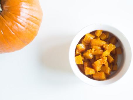 Cinnamon, Maple Roasted Butternut Squash
