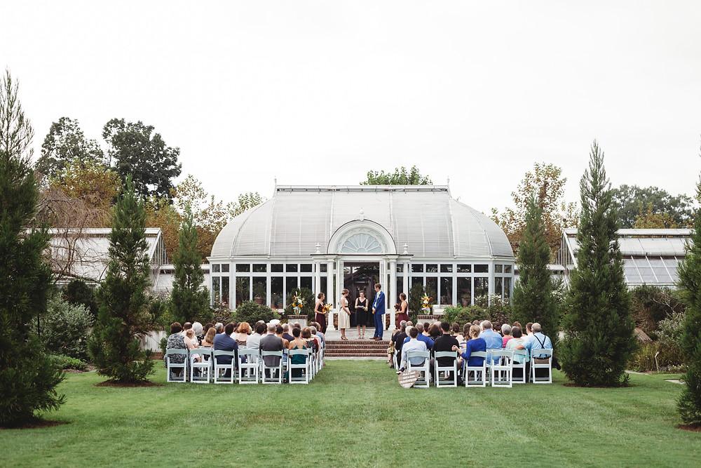 reynolda gardens wedding nc
