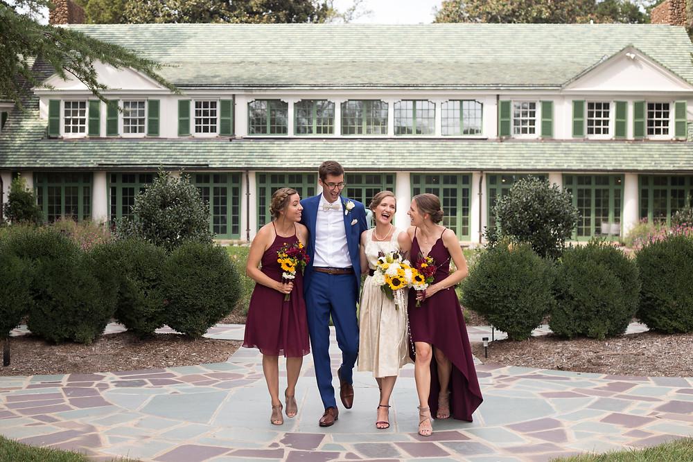 reynolda house wedding