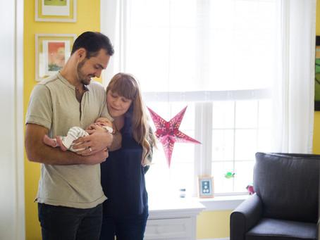 Hudson's Lifestyle Newborn Portraits
