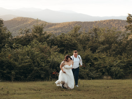 Liz and Wes' Mountain Elopement