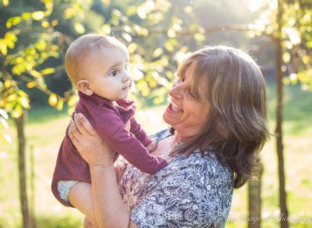 Arlo and his Granny Cindi