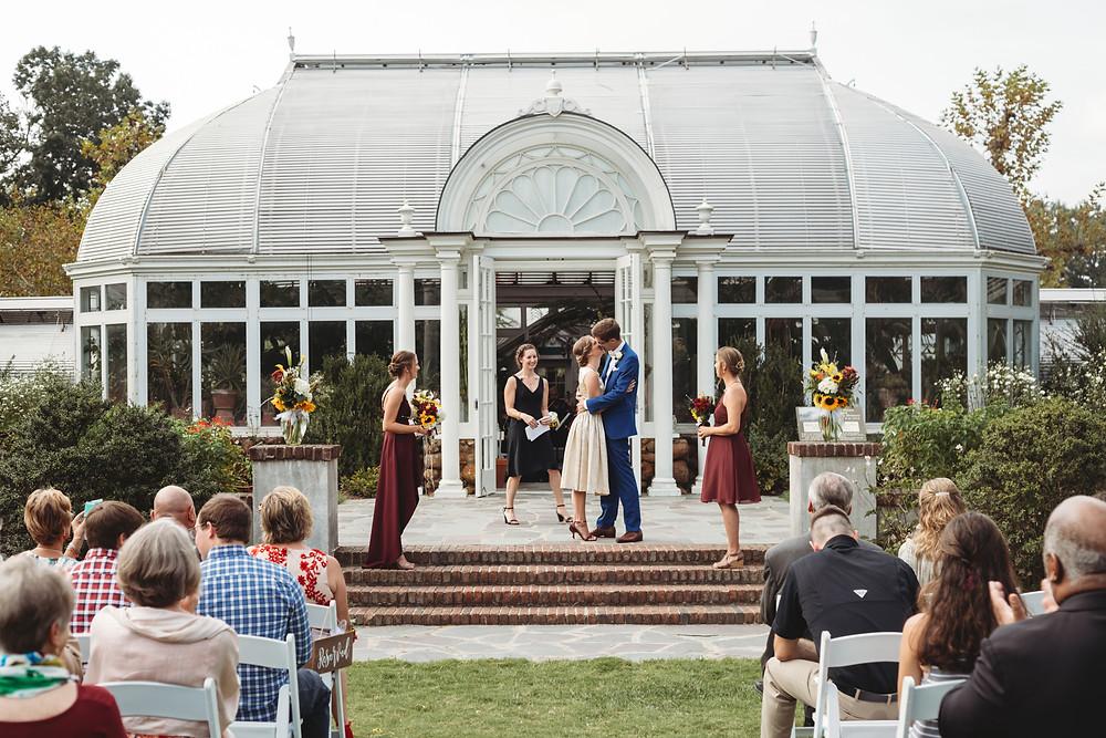 reynolda greenhouse wedding