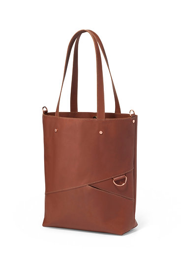New shopping bag-brown color