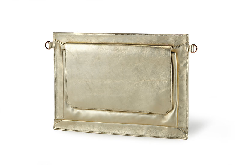 תיק קלאצ' נעמי זהב