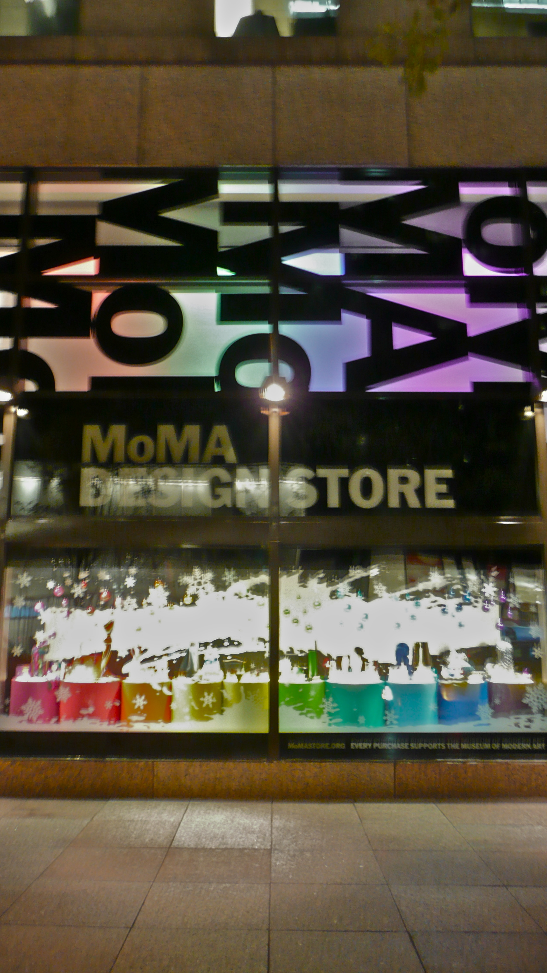 MoMA Design Store Holiday 2010