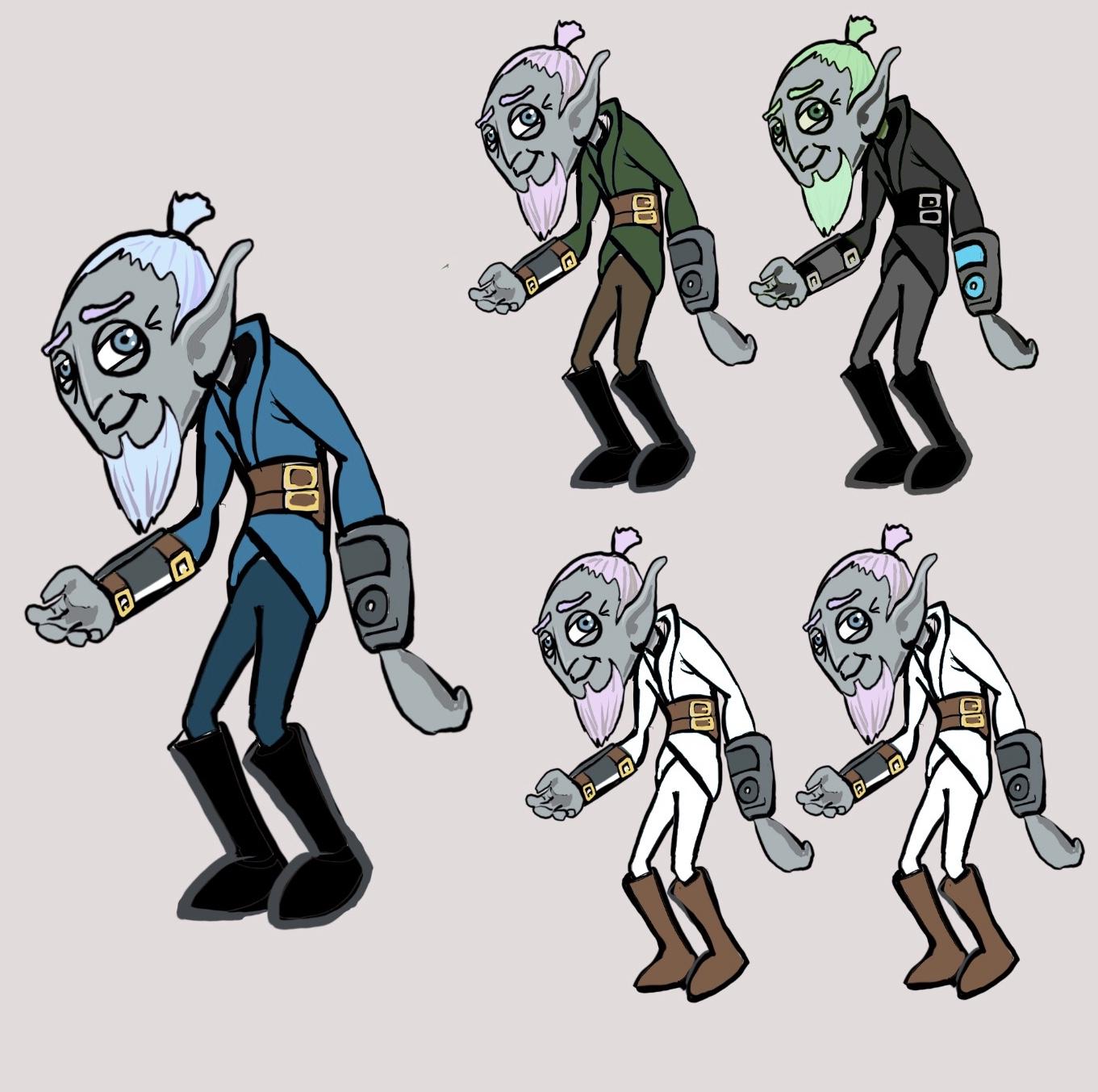 GoZen Character Concept