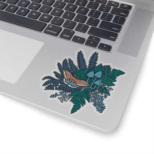Fern & Fungi Sticker