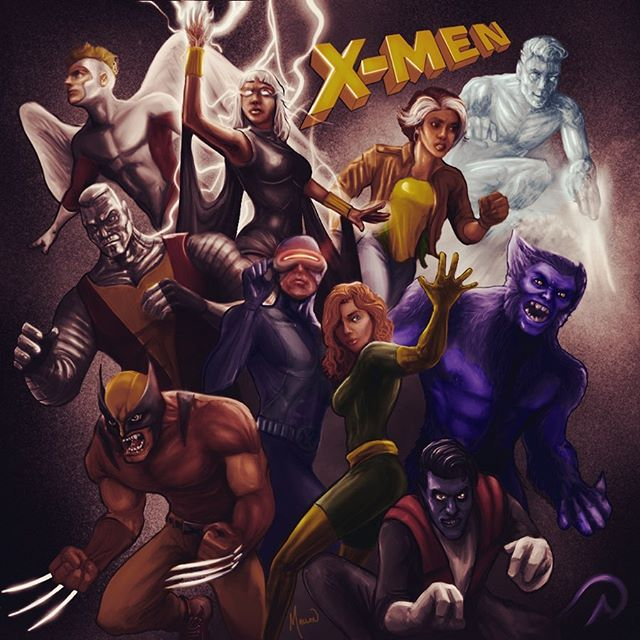 X-Men #ipadpro #procreate #digitalart #m