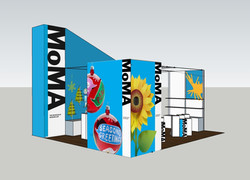MoMA Trade Show Booth 2011