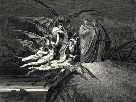 Inferno: Canto 21 - The Malebranche
