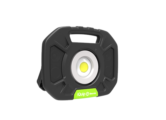 iBeamie LED Rechargeable Light with Wireless Speaker