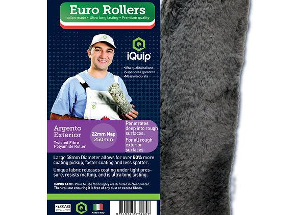 Euro Roller Argento Exterior Roller Sleeve 22mm Nap