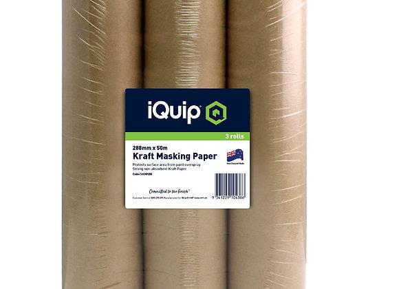 iQuip Kraft Masking Paper