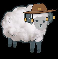 iQuip Jumbuck 100% Australian Lambswool Paint Roller Sleeve