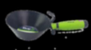 iQuip Galvanised Render Scoop 180mm Ergomic Handle