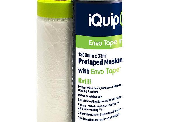 iQuip Pretaped Masking Film with Envo Tape