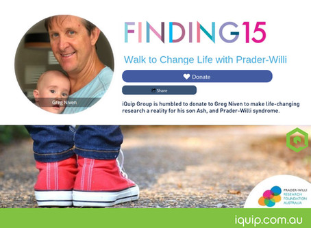 Walk to Change Life with Prader-Willi