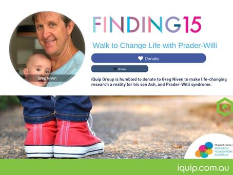 Walk to Change Life with Prader-Willi