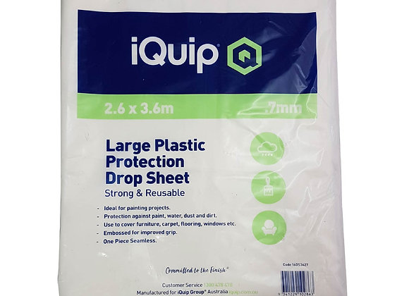 iQuip Plastic Drop Sheet
