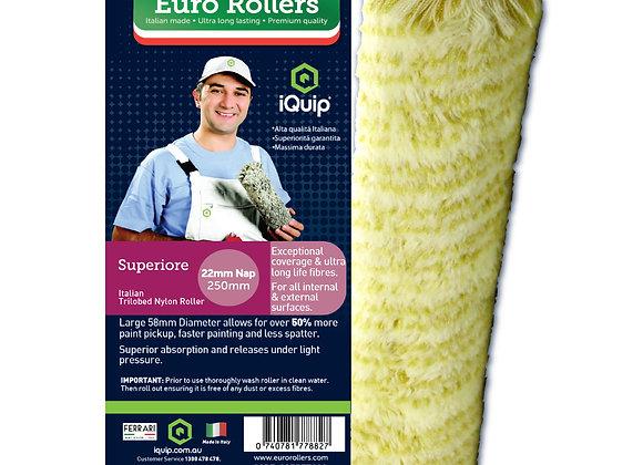 Euro Roller Superiore Italian Roller Sleeve 22mm Nap